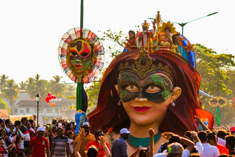 Experience The Goa Carnival