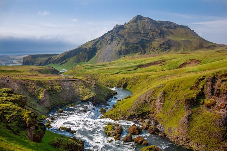 Best Place For Hot Springs In The World: Reykjadalur Valley Iceland