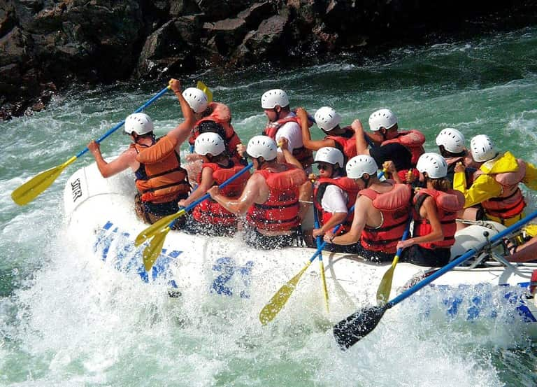 River Rafting In Teesta River
