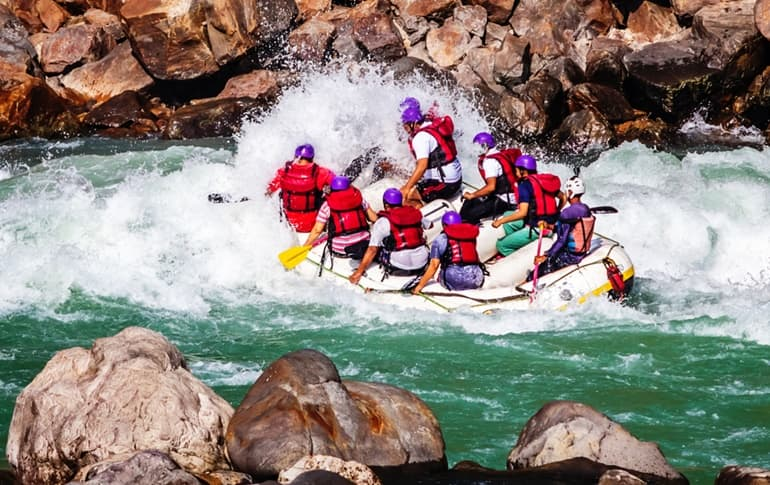 River Rafting In Seti River